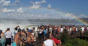 Cataratas del Iguazú cerró su mejor temporada de invierno de la historia