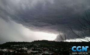 El temporal azotó a Misiones y causó severos daños al sur de Brasil