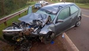 Joven motociclista falleció en el acto en un accidente ocurrido en Puerto Rico