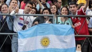 Más de 150.000 fieles argentinos cruzaron la frontera para ver al papa Francisco
