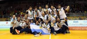 Panamericanos: Argentina aplastó a Brasil y es medalla de oro en voley
