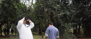Se concretó el avistaje de aves en el Jardín Botánico
