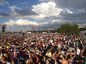 #FranciscoenParaguay: cerca de 200 mil jóvenes aguardan en la Costanera de Asunción
