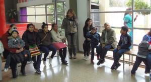 Familias de Santa Rita que formarán parte del programa  CONIN visitaron el Hogar de Día