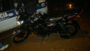 Detuvieron a joven y secuestraron una moto adulterada en Posadas