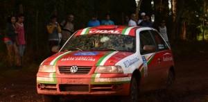 Rally Argentino: En la competencia de los pilotos misioneros gana Gabriel Vidal Rodríguez