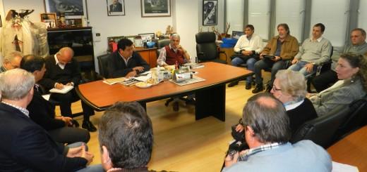 Empresarios de la CEM se reunieron con el presidente de Emsa