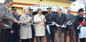Closs inauguró el sistema de vigilancia por cámaras y la seccional cuarta de Policía, en Oberá