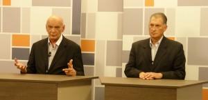Pastori y Brignole debatieron por televisión