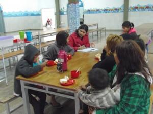 El Hogar de Día asistió a familias de la comunidad mbyá guaraní