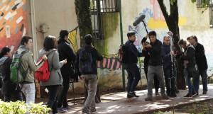 Con un rodaje al aire libre cerraron talleres de formación del Oberá en Cortos