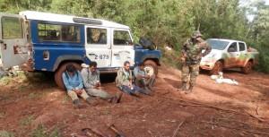 Detectan cazadores furtivos en Yabotí: uno se resistió al arresto a escopetazos