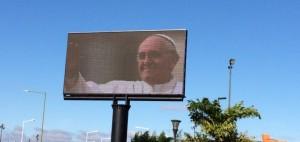 #FranciscoenParaguay: Este domingo a las 10, se verá la misa del Papa en la pantalla gigante de la Costanera