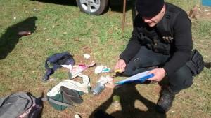 Cuatro detenidos y cuchillos secuestrados en averiguación de robos en la vía pública