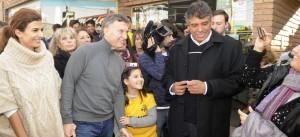 """Macri: """"Nosotros expresamos la vocación de futuro"""""""