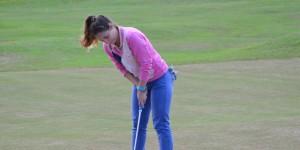 Golf: Natalia Ghione se lució en el torneo de Camelias Campos de Té