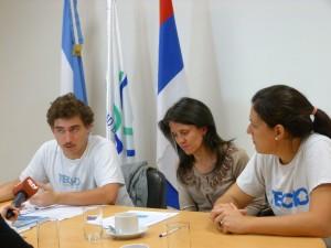 Techo firmó un convenio de colaboración con la Cuenca del Plata