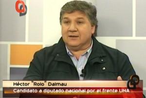 """Rolo Dalmau: """"Puerta se quiere robar dos bancas de Misiones para dos tipos que viven en Buenos Aires"""""""