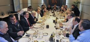 Scioli se reunió con secretarios generales de la CGT