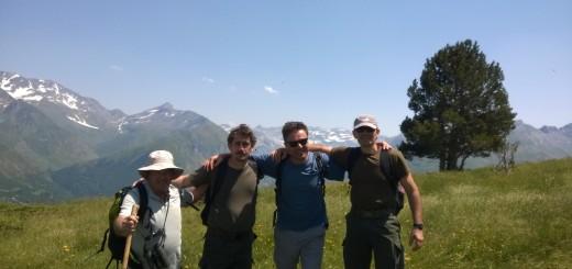Continua el intercambio de guardaparques entre el ministerio de Ecología y el Parque Nacional Pirineos, en Francia