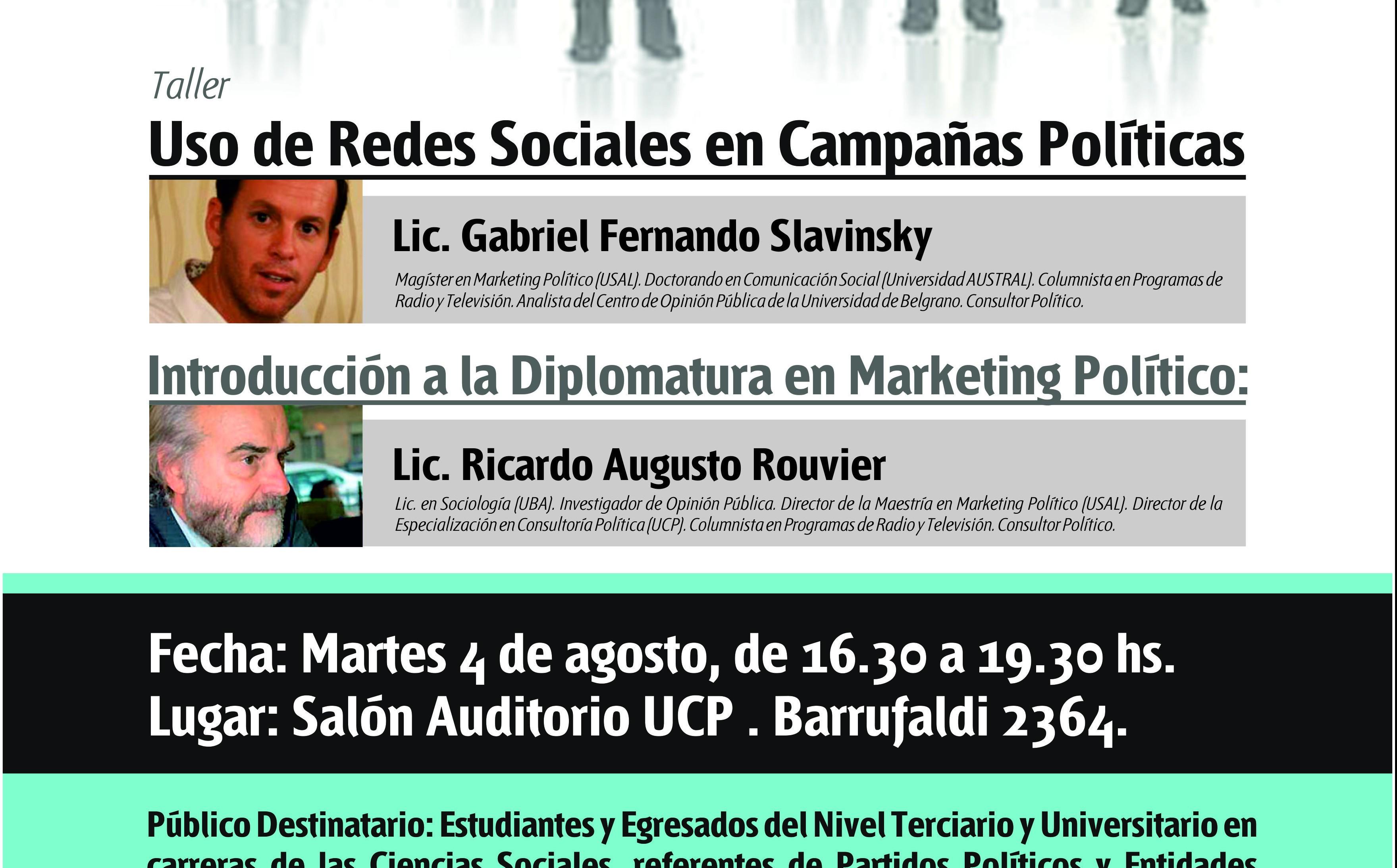 La Cuenca del Plata dictará un taller de uso de redes sociales en campañas políticas