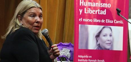Lilita Carrió llega este viernes a la provincia y recorrerá Posadas, Iguazú, Eldorado y Oberá