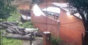 Eldorado: Techos de escuelas y viviendas se vieron afectados por la tormenta