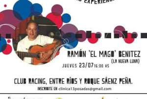"Clínica 13: ""El Mago"" Benítez trae todo el sabor tropical de la guitarra"