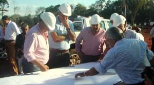 Intensa jornada de trabajo del gobernador en Eldorado