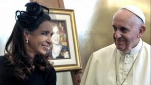 "Francisco saludó a su ""amada Patria argentina"" en un mensaje a Cristina"