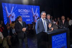 """Scioli: """"La gran carta de presentación de nuestro espacio es la coherencia en la ampliación de derechos"""""""