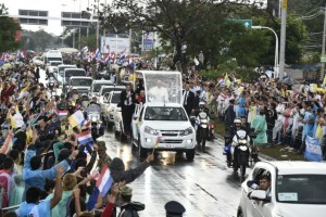 El papa Francisco se detuvo en la cárcel del Buen Pastor