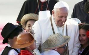 Enorme despliegue en la frontera por los peregrinos que irán a ver al Papa