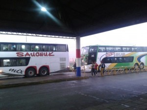 #FranciscoenParaguay: los primeros contingentes de argentinos llegaron a Asunción desde Formosa