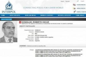 González fue detenido en Porto Alegre, Brasil, donde vivía hace una década.