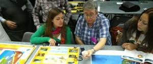 Docentes del Storni participaron de unas jornadas de ciencia y tecnología en Buenos Aires