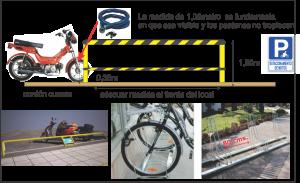 Buscan crear estacionamientos de motos cerca de las cámaras de seguridad para mayor control