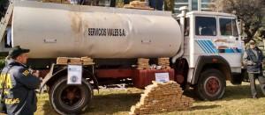 El camión cisterna con droga detectado en Virasoro era de un capo narco de provincia de Buenos Aires