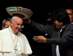 El Papa comunista