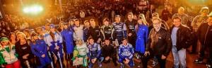 Los pilotos del rally argentino se ponen a prueba con la tierra colorada