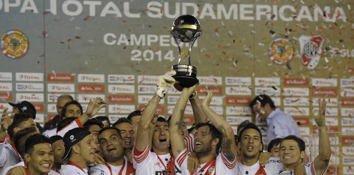 Con River como último campeón y sin Boca, hoy se sortea la copa Sudamericana 2015