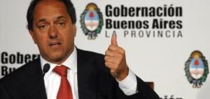 Scioli estará en Chaco en una cena con empresarios del norte argentino que respaldan su candidatura