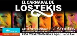 """Los Tekis estarán el 10 en Posadas: """"Pido disculpas e invito al carnaval de la Pachamama y la música"""""""