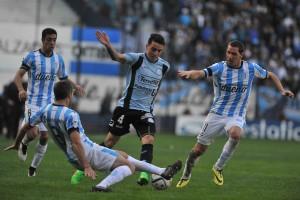 Racing no levanta vuelo y empató con el duro Belgrano en Avellaneda