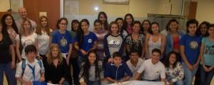 Nueve estudiantes posadeños de la fundación Brazos Abiertos recibieron becas del Banco Francés