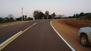 Concluyó asfaltado de la Ruta Provincial Nº 215