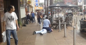 Video: personal de seguridad detuvo a un ladrón en el shopping de Posadas