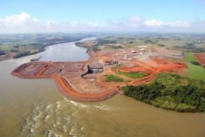 Aval judicial para el reinicio de la represa Baixo Iguaçu