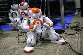 Crean un robot para compartir una sesión especial de un entretenimiento