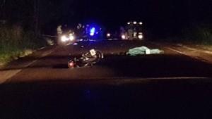 Chocaron tres motos en la ruta 17 y murieron dos jóvenes